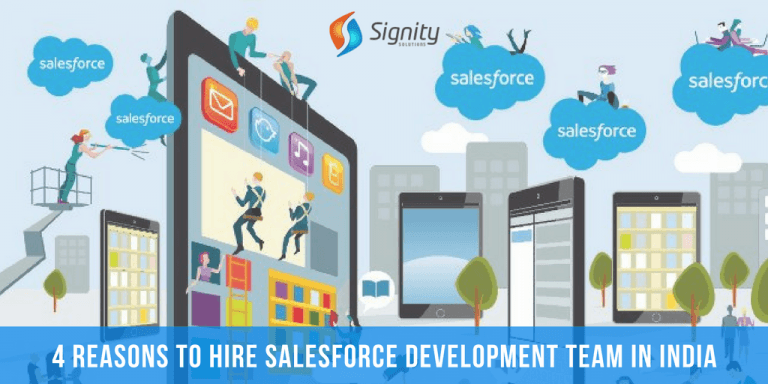 hire salesforce development team in India -SignitySolutions