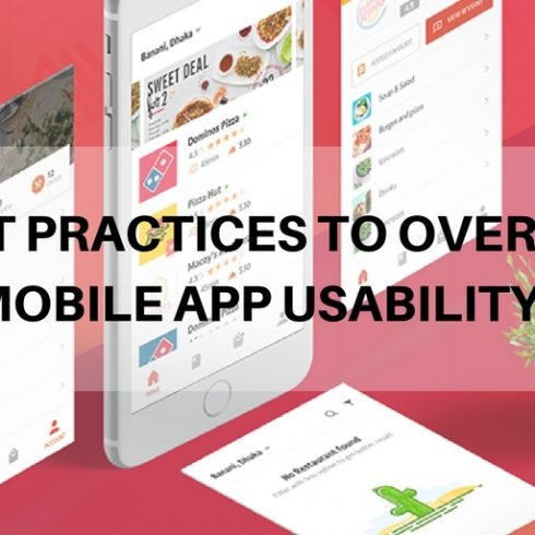 6 best practise to overcome from mobile app usability issues