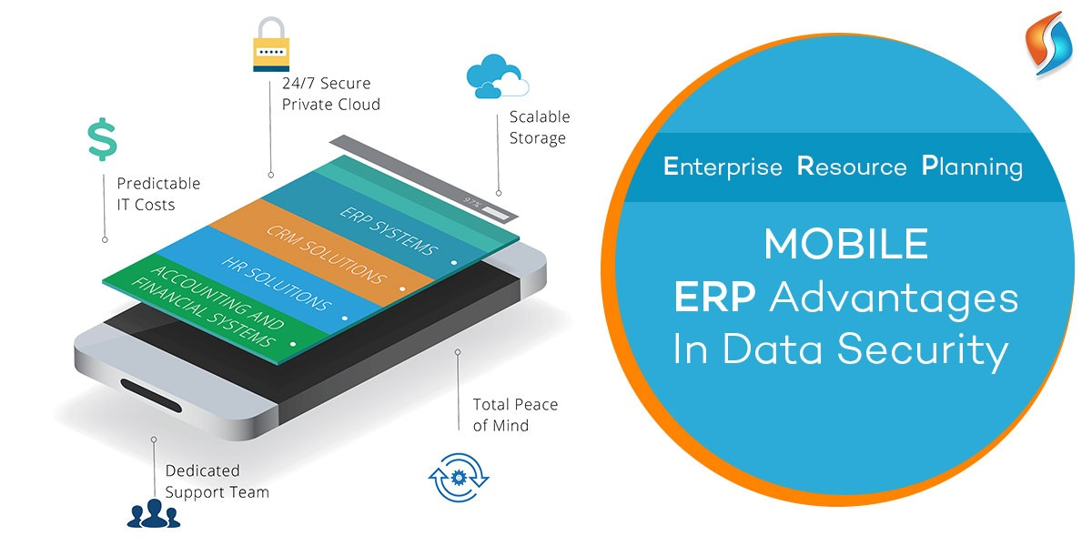 Mobile ERP advantages in Data Security