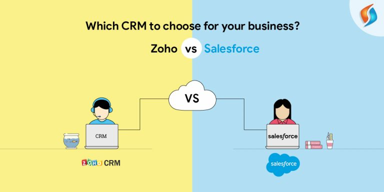 CRM Solutions for Business-Zoho vs Salesforce-SignitySolutions