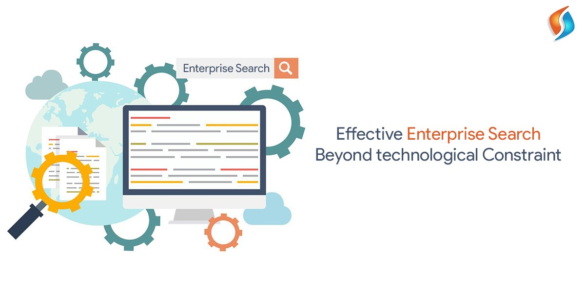 Effective enterprise search beyond technological constraint