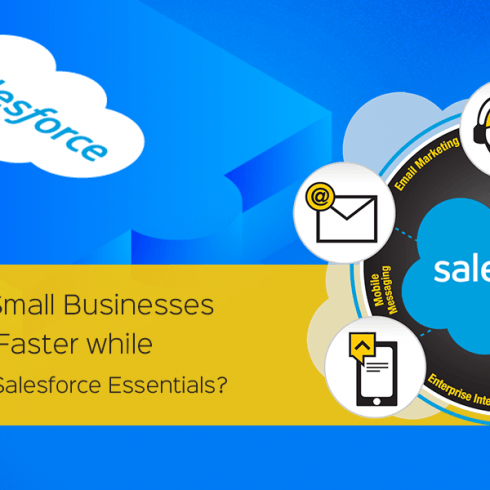 How can small businesses grow faster while working with Salesforce essentials?