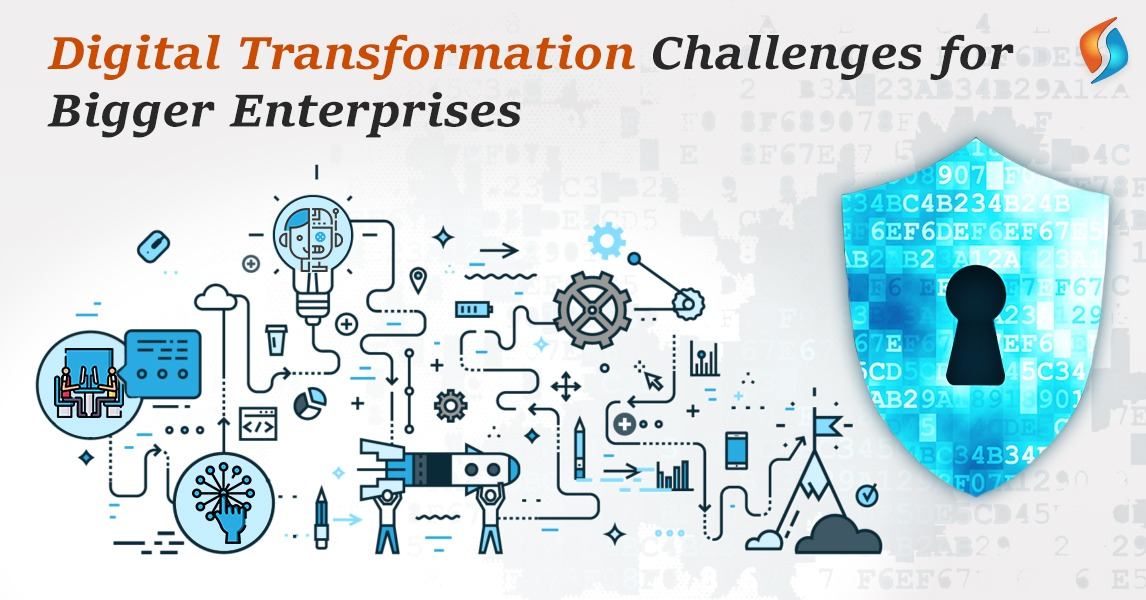 Digital Transformation Challenges for Bigger Enterprises