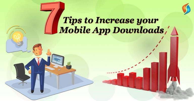 7-Tips-Increase-Mobile-App-Downloads-SignitySolutions Yes, you have done it! You have finally built your mobile app. You mark your checklist, starting with a Great Design Subtle App icon Successful Testing on every platform Rightfully Exploring your niche Knowing about your competition After this, you take a sigh of relief and wait for the downloads. You open your analytics and find there is no download. No one wants to download your app! If this is the problem, do not fear, most of the mobile application development company and owners are facing the same issue. If you have an app that is correctly developed, you can make the downloads happen. And once you have a significant number of downloads, you'll be able to make some real money. But for all the minting, it takes a little effort and the right tactics to bring your app to the attention of the masses. So, before you learn about the tricks you first need to know how apps are downloaded in the first place. About App Store Optimization (ASO) The very first thing that you need to know is about how app stores work. App store optimization is a bit different from Search Engine Optimization. They both are very similar but ASO has a greater impact that SEO has on Google. App Store Optimization increases the visibility of your app in the marketplace. The higher it ranks, the more users will find your app when they search. ASO also helps you in determining whether the user will download your app or not. There are some aspects that affect your App Store Optimization. Positive Reviews- The number of positive reviews in your app, the higher the rating will be. When a user ranks app high, it will also be ranked highly on the App Store, improving the number of downloads. Keyword relevance- Apps consisting of popular keywords, title, and description, has more download. Country- Regional success can influence your ranking. Backlinks- Backlinks done on relevant pages can help in improving app rankings. Retention- The number of people who uninstall your apps vs the number of who keep it within 30 days also have effects on the rankings. So, in order to maintain a retention level, make efforts towards your target audience in the app description. All the above-listed factors are, thus, always taken care of in the app development process by every major mobility service provider. Additional factors include – Revenue Social Proof Localized Product Page Icon App Stats App Name Screenshots Installs per Keyword Now you know about ASO factors, let's read about 7 tips that will boost your app downloads. 1. Name and Describe your app properly Create a title and description in a way that when a user reads it, they should know what your product does. So, if you need your app title to stick in your user's brain, it needs to be unique and appropriate. Another point to keep in mind is that the app store gives you the character limit, but you should only use 25 characters, as the search result shows only those numbers. And your description should consist of – information, benefits, features, and a call-to-action. 2. Marketing the App Setup a marketing budget, don't be conservative about it. Marketing strategies are the campaign for weeks or even months. But to get a sharp high in your app stats, budget your market spending in a specific time frame. With the right set of digital marketing services, spread your advertising across various channels according to your target audience that can include – App directory sites Social media Websites like Reddit Relevant blogs Email Marketing SMS Marketing You will notice after some time that a lot of traffic will come from organic search, and a lot of downloads will come from your website, to create a website as well. If you need expert Indian techies for enterprise mobility solutions, get in touch with us. 3. Create a subtle and clean Icon Your app is the first thing that a potential user sees, so the icon design of your app should be eye-catching and serves a clear representation of your app. You should keep your app icon straight forward, and not too flashy. Know more about icon designing from our experts. 4. Social Media Reach To put this in simple words, your social media voice must match your app's personality. Example: if your app is edgy then don't bore your users with boring business language. And if your app targets young professionals then business speak might suit your audience. The social media platforms that can help you get attention are – Facebook Instagram Twitter Youtube Pinterest Linkedin But don't post information that only concerns your brand. Engage with your fans and provide information about your niche industry. If you need assistance in the social media marketing of your app, let our mobile app development agency help you out. 5. Eye-Catching Screenshots and Videos One of the most important aspects of your app description is the collection of the screenshots, videos, and pictures. Screenshots of your app highlight the most important features of your app and will immediately encourage app downloads. Photos from the app are typically what users will look at after the first click on your app. And if you have the necessary tools, you can even design a video of your app. If you do not have specific tools, you can contact a custom web development company for professional editors. 6. Choosing correct Keywords Always remember you should never choose keywords because it has high search results. Any keyword that you chose must be accurate and relevant to your app and target audience. If you will stuff your descriptions with irrelevant keywords, your app will lose your credibility and your downloads will suffer. 7. Aiming at the users It is not only about the number of downloads, but it is also important to know - who, when, where, and how your app is used. In this case, analytics is very important to determine what kind of users want the most out of the app. Big data analytics inform you of the user's behavior. They are also the key to generate continues downloads. Choose the best mobile application development company! If you want a professional mobility service provider to successfully apply all these tips to your app, think to outsource mobile app development to India, and get in touch our mobile app developers to drive some serious app sales. Talk to our experts today!