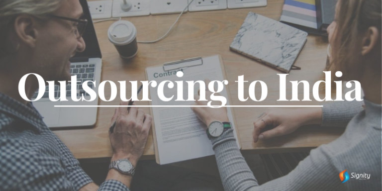 Outsourcing to India - Signity Solutions