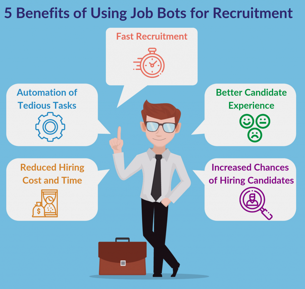 Benefits of using bots for job hiring
