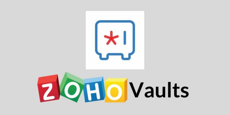 Zoho Vault Mobile Apps for iOS and Android