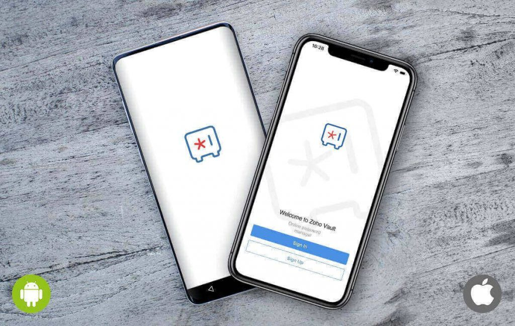 Zoho Vault Mobile Apps for iOS and Android- Zoho