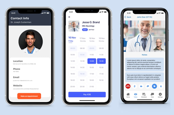 On-demand telemedicine app solutions - Signity Solutions