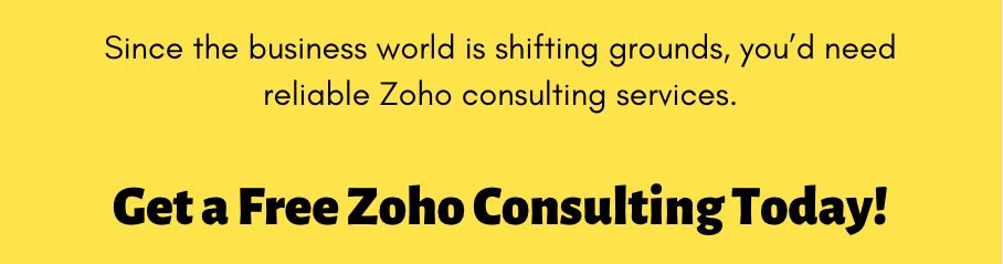 Zoho consulting - SIgnity