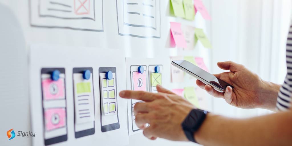 outsource mobile app development - signity solutions