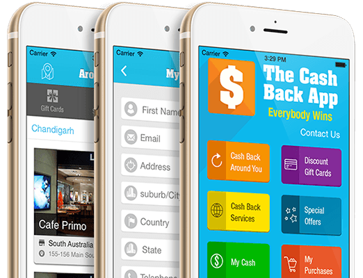 the cashback app - mobile app development