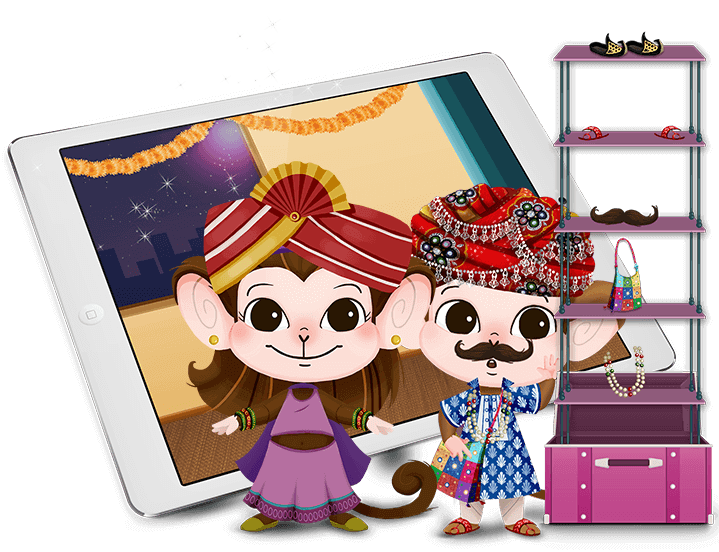 3 curious monkey - kids mobile app development India