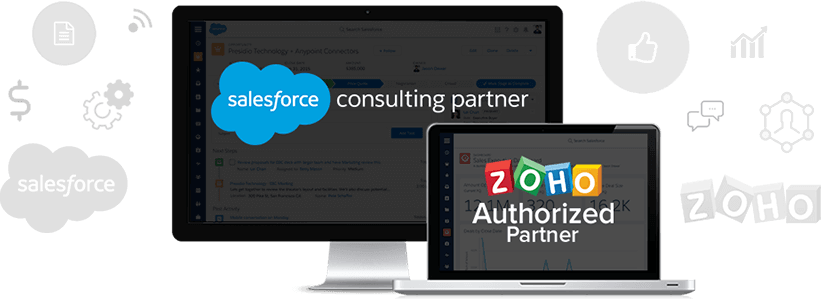 Zoho & Salesforce Banner